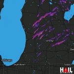 1.75 Inch Hail Near Flint, MI 05-20-2013