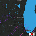 1.25 Inch Hail Near Chicago, IL 04-09-2015
