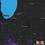 1.25 Inch Hail Near Indianapolis, IN 07-17-2015